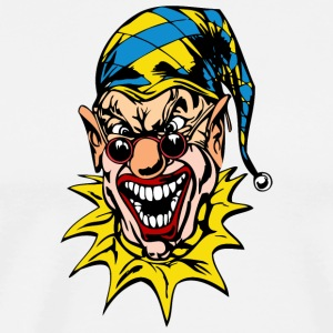 EVIL_CLOWN_47_colored - Men's Premium T-Shirt