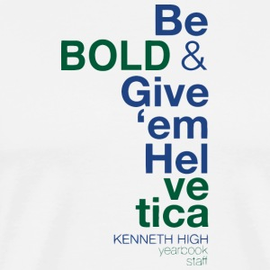 Kenneth High Yearbook Staff - Men's Premium T-Shirt