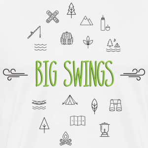 Big Swings Outdoors Forever - Men's Premium T-Shirt