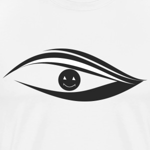 Smilling eyes - Men's Premium T-Shirt