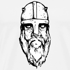 Leif, the nordic viking - Men's Premium T-Shirt