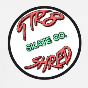 STR8 SHRED Logo - Men's Premium T-Shirt