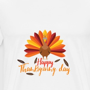 Happy Thanksgiving day 2017 Design shirt - Men's Premium T-Shirt