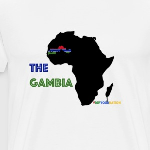 #RepYourNation: The Gambia - Men's Premium T-Shirt