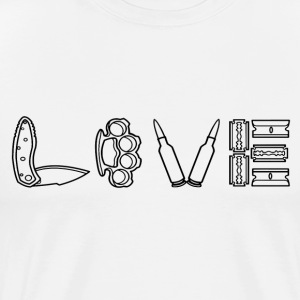 Love Hurts - Men's Premium T-Shirt