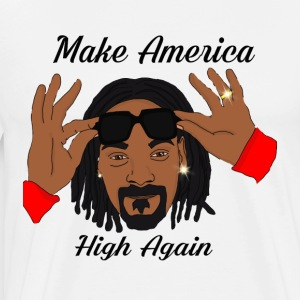 Make America High Again - Men's Premium T-Shirt
