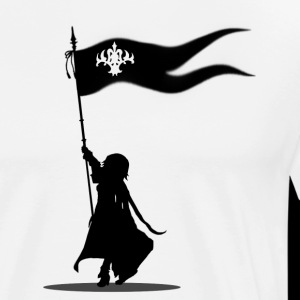 Jeanne d'arc god is here with me - black logo
