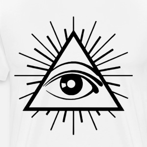 ALL SEEING EYE Printed Conspiracy Illuminati Cult