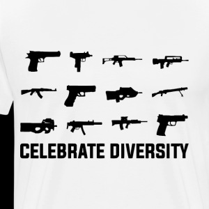 Celebrate Diversity Funny Gun Rights