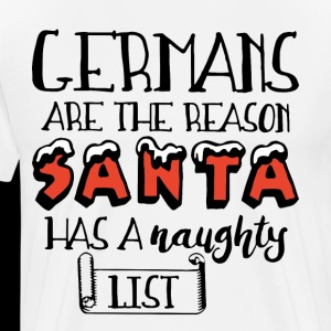 Germans are the reason santa has a naughty list