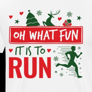 Running Christmas Oh What Fun It Is To Run