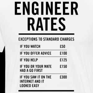 Engineer Labour Rates Mens Funny
