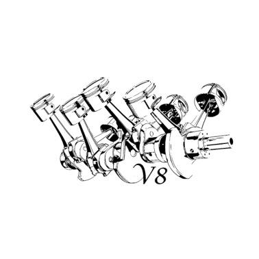 Car Tuning Car Tuner Ps V8 V6 Lawn Trucker Cap