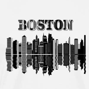 Boston word and city design