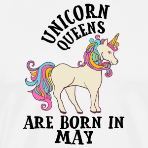 Unicorn Queens Are Born In May Birthday Gift