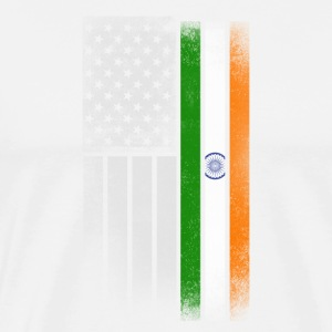 Indian American Flag