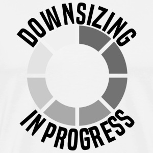 Funny Burpees - Downsizing In Progress - Gym Humor
