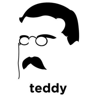 Teddy Roosevelt Vector Art American Superman - Men s Premium T-Shirt 971a05457349