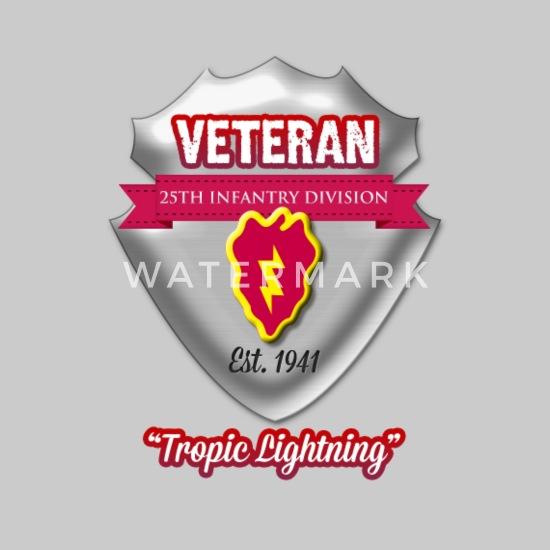 Veteran 25th Infantry Division Men's Premium T-Shirt
