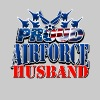 Proud Airforce Husband - Men's Premium T-Shirt