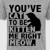You've cat to be kitten me right meow - Men's Premium T-Shirt