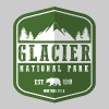 Glacier National Park - Men's Premium T-Shirt