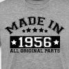 MADE IN 1956 ALL ORIGINAL PARTS - Men's Premium T-Shirt