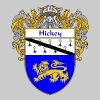 hickey_coat_of_arms_mantled - Men's Premium T-Shirt