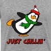 Just Chillin' Penguin Chilly Willy - Men's Premium T-Shirt