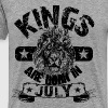 Kings Are Born In July - Men's Premium T-Shirt