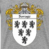 savage_coat_of_arms_mantled - Men's Premium T-Shirt
