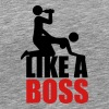 Like A Boss Drunken Sex And Beer Party - Men's Premium T-Shirt