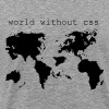 World without CSS - Men's Premium T-Shirt