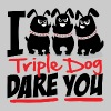 Triple Dog Dare - Men's Premium T-Shirt