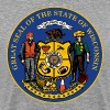 NEW WISCONSIN STATE SEAL - Men's Premium T-Shirt