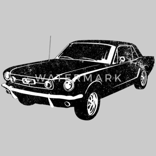 Mustang 1964 Embroidered /& Personalised Fleece Jacket