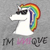 I'm Unique | Cool Unicorn With Sunglasses - Men's Premium T-Shirt