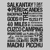 Salkantay Trek to Machu Picchu - Men's Premium T-Shirt