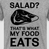 Salad? That's what my food eats - Men's Premium T-Shirt