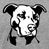 Pitbull Dog - 2 colors - Men's Premium T-Shirt