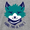 Chibi FOX with Types - Men's Premium T-Shirt