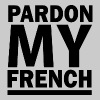 PARDON MY FRENCH DJ SNAKE - Men's Premium T-Shirt