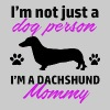 dachshund design - Men's Premium T-Shirt