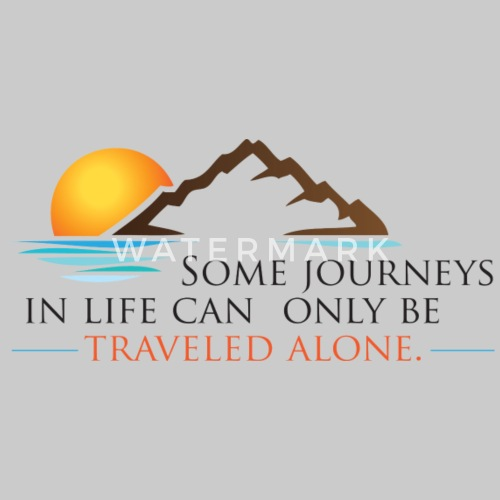 Viral Quote Journeys Travel Alone Life Quotes By Author Ken