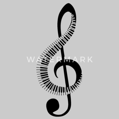 music note treble clef men u2019s premium t