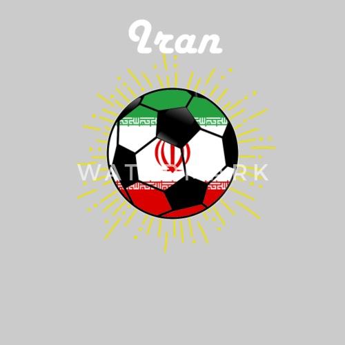 Iran Soccer Design Iranian Flag World Soccer 2018 - Men s Premium T-Shirt.  Back. Back. Design 83bc35e60