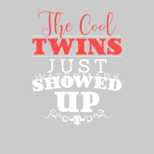 The Cool Twins Family Birthday Gift Funny By Second Try USA