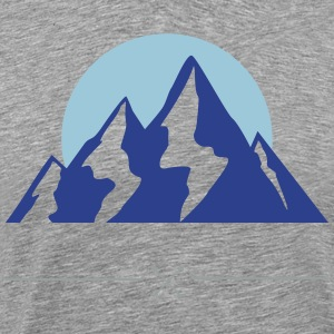 Mountain Range - Men's Premium T-Shirt