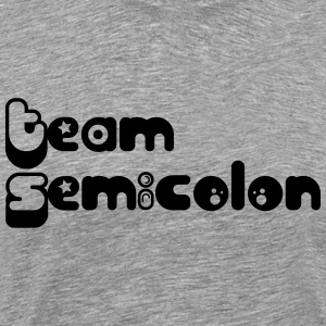 Team Semicolon - Men's Premium T-Shirt