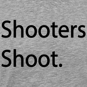 Shooters Shoot OG T-Shirt - Men's Premium T-Shirt
